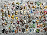 Lot Of 88 Littlest Pet Shop Animals Variety Dog Cat Bug Fish Bunny Bird And More