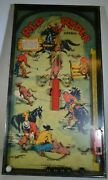 Red Ryder Corral Was Produced By Gotham Pressed Steel Corp Pinball Game Rare