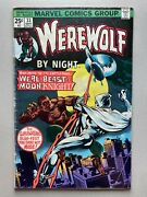 Werewolf By Night 33 • 2nd Appearance Of Moon Knight • Marvel Comics 1975