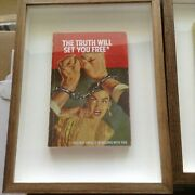 Connor Brothers - And039the Truth Will Set You Freeand039 - Limited Vintage Book + Coa