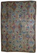 Hand Made Antique American Hooked Rug 6and039 X 8.10and039 183cm X 272cm 1900 - 1b537
