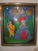 Mihail Chemiakin 64 By 76 Inch Painting