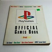 Playstation Official Games Book - 9 Guides In 1 1995, Bradygames, Paperback