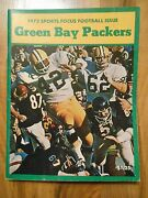 Old Vintage 1972 Sports Focus Football Issue Green Bay Packers Nfl Magazine