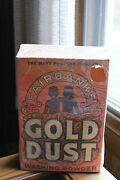 Old Vintage Or Antique Advertising Fairbankand039s Gold Dust Washing Powder Cleaner