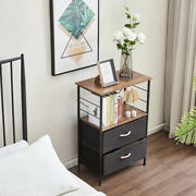 Nightstands Rustic Side Table Dresser Tower For Displaying Lamps Alarm Clock