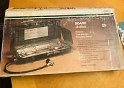 Vtg Sears Hillary Deluxe Dual Burner Stove 72754 Hunting Fishing Camp Tailgate