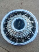 78 - 82 Continental Lincoln 15 Wire Hubcap Wheel Cover Spokes