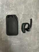 Plantronics Voyager 5200 Bluetooth Headset - Black With Charging Case