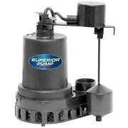 Electric Water Submersible Underwater Pool Pond Sump Pump 1/2 Hp Thermoplastic