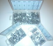 422 Stainless Steel Sheet Metal Andmachine Screw Assortment Finishing Washers Nuts