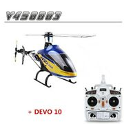 Walkera V450d03 Rc Helicopter 6ch Flybarless With Devo 10 Transmitter Drone Toy