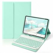 Magnetic Keyboard Mouse Case With Pencil Holder Set For Ipad Pro Air