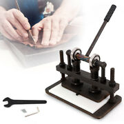 Manual Die Cutting Machine Hand Press Mold Craft Leather Cutter Leather Embosser