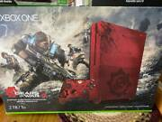 Xbox One S Gears Of War 4 Limited Edition 2 Tb Console + Elite Controller + More