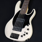 Electric Bass Esp Ap-sl5 See Thru White S1227101 Used Super Long Scale 5st