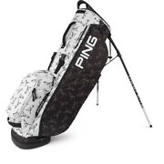 New Limited Edition Mr. Ping Hoofer Lite Black/white Stand/carry Golf Tour Bag