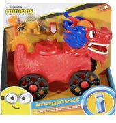 Imaginext Minions Andldquothe Rise Of Gruandrdquo Dragon Disguise Vehicle With Figure New 2021