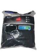 Hanes Mens 10-pack Cushioned Comfort Athletic Crew Socks Black Size 6-12 New 45