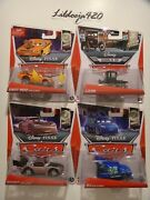 Disney Pixar Cars Tuners Snot Rod Boost Dj All With Flames And Lizzie