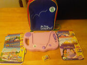 Leapfrog My First Leappad Lot Learning System, Backpack, 6 Books And 4 Cartridges