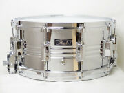 Vintage 1980and039s Pearl B4514lx Jupiter Brass Snare Drums 14 X 6.5