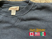 Vintage Ducks Unlimited Embroidered Flags Usa Canada Mexico Large Sweatshirt Vtg
