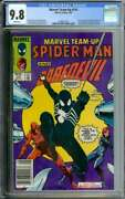Marvel Team-up 141 Cgc 9.8 White Pages // 1st Black Suit Newsstand Marvel 1984