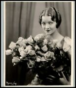 Queen Of The Movies Myrna Loy Original '30s Hollywood Regency Glamour Photo 470