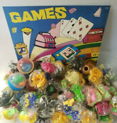 Vintage Cartoon Pencil Topper Charms Toys Vending Gumball Machine Lot Of 6 279