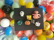 Vintage Mini Charms Toys Prizes Vending Gumball Machine Lot Of 6 280