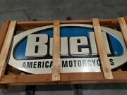 Buell Motorcycle Sign - New In Crate