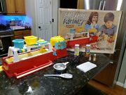 Lollypop Factory By Emenee 1965 Original Box Near Complete - Box Stained Inside