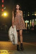 Free People Nwt Size Small Sweet Mini Velvet Strappy Dress New Into The Mist