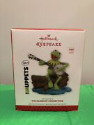 2013 Hallmark The Muppets The Rainbow Connection Kermit The Frog Banjo Ornament