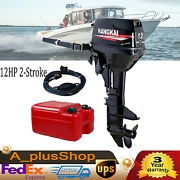 12hp 2-stroke Outboard Motor Boat Engine 169cc Outboard Engine Water Cooling Cdi