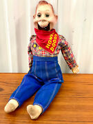 Vintage 1950's Howdy Doody Doll By Ideal Toys