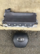 Toyota Camry Bag Knee Air Driver Side-black Colors-2018-2019-2020
