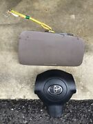 Toyota Rav4 Bags Air Driver And Passenger Side-black And Brown Colors-2004-2005