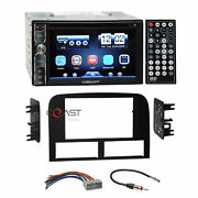 Concept Dvd Usb Bluetooth Stereo Dash Kit Harness For 02-04 Jeep Grand Cherokee