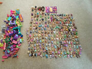 Lot Lps Littlest Pet Shops 258 Animals And Over 300 Accessories Dogs Cats Rare Vtg