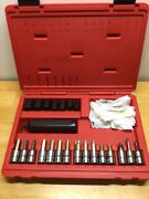 Snap On Pit120 3/8 Drive Impact Driver Set 11-18mm Sockets, Torx, Phillips, Hex