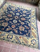 Distressed C1915 Antique 10' 2x12' 2 Carpet From India Complimentary Shipping