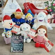 Build A Bear Rudolph The Red-nosed Reindeer Island Of Misfit Toys Christmas Set