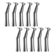 10dental Inner Water Push Contra Angle Handpiece Fit High Speed Fg 1.6mm Burs M