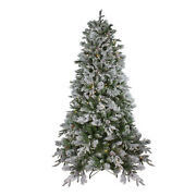 Northlight 9' Led Mixed Rosemary Emerald Angel Pine Christmas Tree -clear Lights