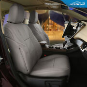 Genuine Leather Slip-on Tailored Seat Covers For Toyota Sequoia - Made To Order