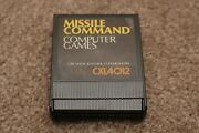 Missile Command For Atari 400 800 600xl 800xl 1200xl - Tested