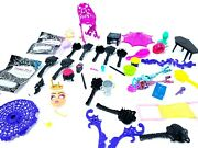 Monster High Accessories And Furnature Lot Howleen Wolf 13 Wishes Etc.