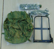 U.s. Lc-1 Large Alice Pack W/new Framestraps Kidney Pad And Linerfree Shipping
